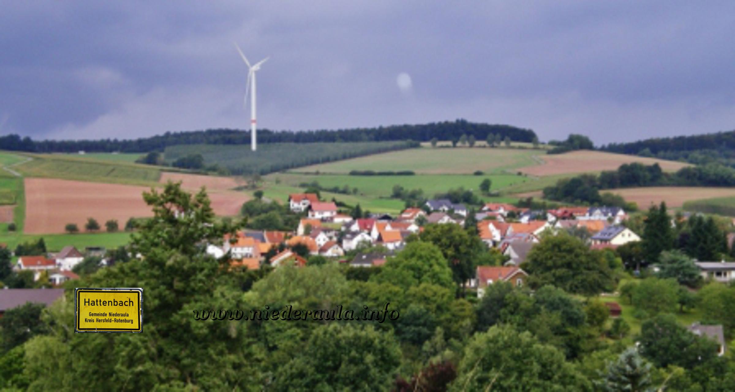 Blick auf Hattenbach