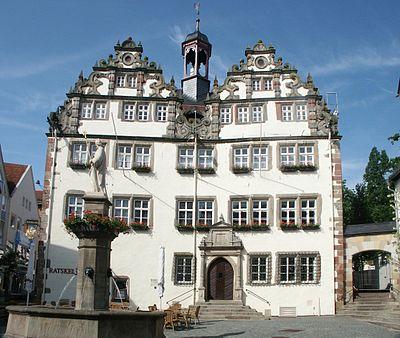 Bild vom Rathaus Bad Hersfeld