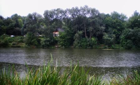 Blick auf den seepark